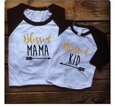 Mommy and Me Shirts - Girl Shirts - Boy Shirts - Baby Onesies - Creative Shirts - Customized Shirts - Monogram Shirts by DreaminOnDesigns on Etsy