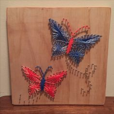 Butterfly String Art