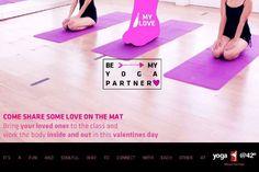 Happy valentine from yoga@42 family.  Www.yoga42indonesia.com