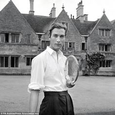 Prince William of Gloucester, the Queen's cousin, pictured in 1962.