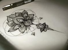 Fresh WTFDotworkTattoo Find Fresh from the Web Lotus  #lotus #mandala #sketch…                                                                                                                                                                                 Más