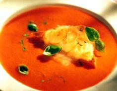 #Zupa #pomidorowa z tostami z #goudą. Mmmm...