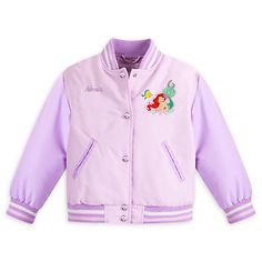 Ariel Varsity Jacket for Girls - Personalizable | Disney Store