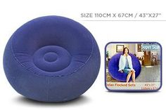 Air Round Velvet Sofa - Blue [266]