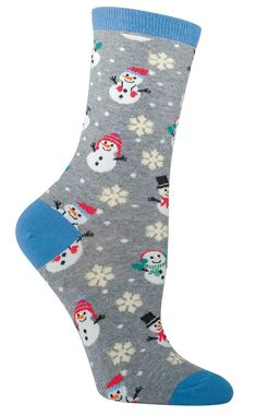 Are you dreaming of a white Christmas? With this pair of cool Christmas socks, you can have one any day of the year without needing to shovel your driveway just to go to the grocery store. Also, frost