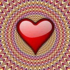 olhe bem e veja o coração batendo...