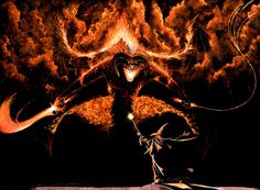 LORD OF THE RINGS-BALROG by stevej061069 on deviantART