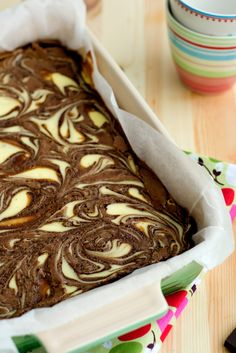 Brownies con queso ricotta «