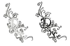 Dance tattoo on my foot or rib cage?!