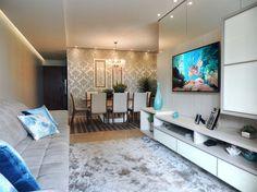 Salas de estar e jantar integradas 21