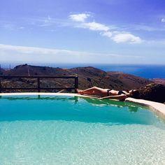 En el paraíso. Calma total. No me quiero ir de Gran Canaria nunca. - @marta_torne has discovered the quietness of the 7th secret pool