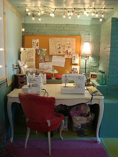The Farmeru0027s Nest; Basement Sewing Nook; Considering One For Our Home     Just