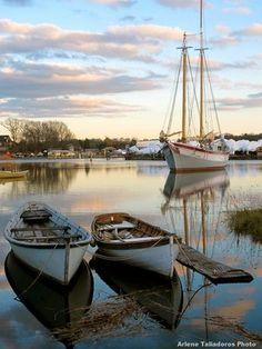 """""""Ardelle"""" by Harold Burnham, Master Boat Builder, Essex, Massachusetts"""