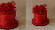 valentines cake by CakeCucina on CakesDecor