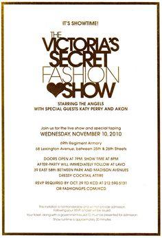 victoria's secret fashion show tickets