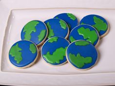 earth cut out cookies - Google Search