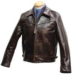 Zip Sleeve Highwayman leather jacket - Aero Leathers, UK