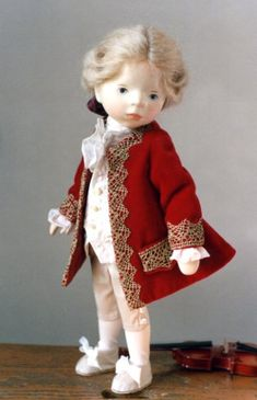 Куклы из дерева, талантливого художника Elisabeth Pongratz dolls / Авторская кукла известных дизайнеров / Бэйбики. Куклы фото. Одежда для ку...