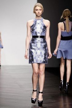 David Koma Ready To Wear Fall Winter 2013 London - NOWFASHION