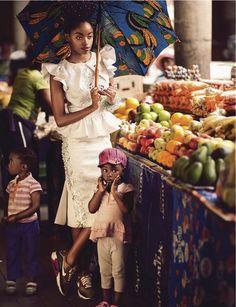 GBI ™: JOZI MABONENG - ELLE SOUTH AFRICA JANUARY 2013 EDITORIAL BY ROSS GARRETT