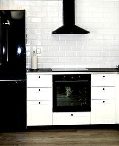 white Ikea kitchen