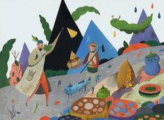 Inca Pan (潘昀珈) - Magical Illustration | Patternbank