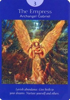 The Empress from the Angel Tarot by Doreen Virtue