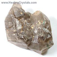 Elestials - Smokey Quartz Elestials (Specimens) (Brazil)- Smokey Quartz - Healing Crystals