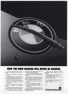 Picture of April Fools day advert - Marque Wiper