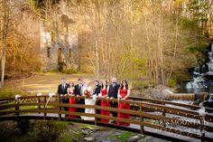 Hightower Falls Wedding | Waterfall Wedding  | GA Outdoor Gristmill Wedding | Paris Mountain Photography Wedding Group Photos, Waterfall Wedding, Mountain Photography, Family Photos, Paris, House Styles, Outdoor, Family Pictures, Outdoors