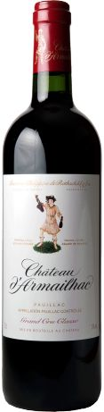 Château d'Armailhac 5ème Cru Classé rouge 2009 - Pauillac - 17/20 : Attaque souple, milieu de bouche charmeur, belle matière, séducteur  En savoir plus : http://avis-vin.lefigaro.fr/vins-champagne/bordeaux/medoc/pauillac/d20606-chateau-d-armailhac/v20713-chateau-d-armailhac/vin-rouge/2009#millesime#ixzz354xVSaNK