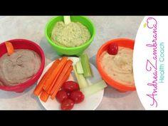 Hummus casero, 3 recetas diferentes - YouTube