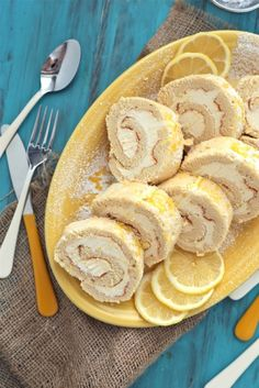 Lemon Roll Cake Recipe
