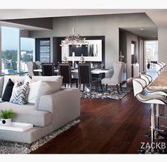 Cool apartment interior