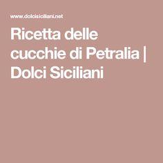 Ricetta delle cucchie di Petralia | Dolci Siciliani