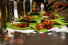 No Indian wedding meal is complete without Paan (beetle leaf)