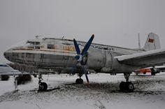 Ил-14 в музее гражданской авиации в Ульяновске