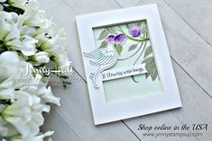 Hello and thanks for stopping by today! This week the Stamp Ink Paper design team are stamping with a color theme. A color challenge makes it easy to adapt any stamp set to fit the need. Serene Garden is a new Bundle in the upcoming 2018 Annual Stampin' Up! catalog and it's wonderful. I …