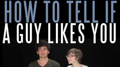 "HEY! Can you men out there relate to Jordan? Blimeycow presents ""How to Tell If a Guy Likes You"" by Jordan, Josh, Kelli, and Amy Taylor! Funny, Realistic, and Helpful!"