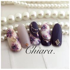 "Polubienia: 381, komentarze: 2 – Yoko Shikata(Ogasawara)♡ (@yochan4.nail) na Instagramie: ""Flower. nails♡(サンプルチップより♥︎)…"""