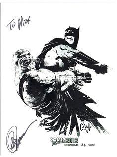 Batman sketch   Greg Capullo