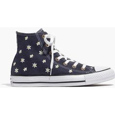 6e99d3f61aa Madewell Womens Converse Chuck Taylor All Star High-Top Sneakers In Denim  Daisy (Size 11 M