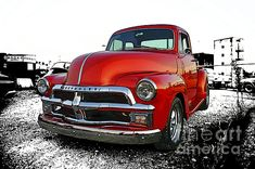 Old red Chevy Pick-up. www.rharrisphotos.com