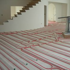 How to install a radiant heat system underneath flooring freeze find this pin and more on diy janes radiant company specializes in custom radiant floor heating solutioingenieria Choice Image