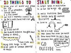 lists, inspiration, to do lists