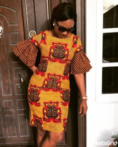 If you are dressing to make an impression, our latest Ankara collection beautifully executed the trends of the season TBH impeccable personality. The stunning styles are not only eye-catching but… African Dresses For Women, African Print Dresses, African Fashion Dresses, African Attire, African Wear, Ghanaian Fashion, African Prints, African Women, Kente Styles