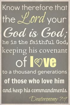 how to make a covenant with god