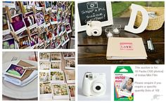 WEDDING GUESTBOOK - POLAROID INSTAX MINI FILM |