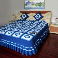 Have you ever wanted to give your own contribution to the collection of childhood Crochet bedspread patterns for beginners in the family?