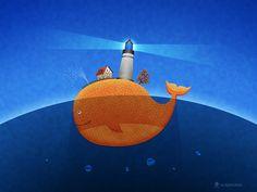 Whale by vladstudio.deviantart.com